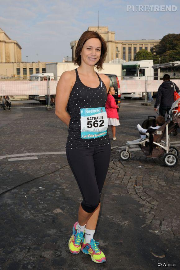 Nathalie p chalat lors de la course la parisienne 2014 for Pechalat nathalie photos