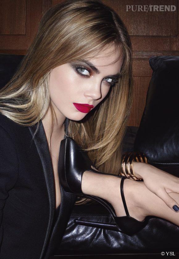 Le make-up automne 2014 selon Yves Saint Laurent.