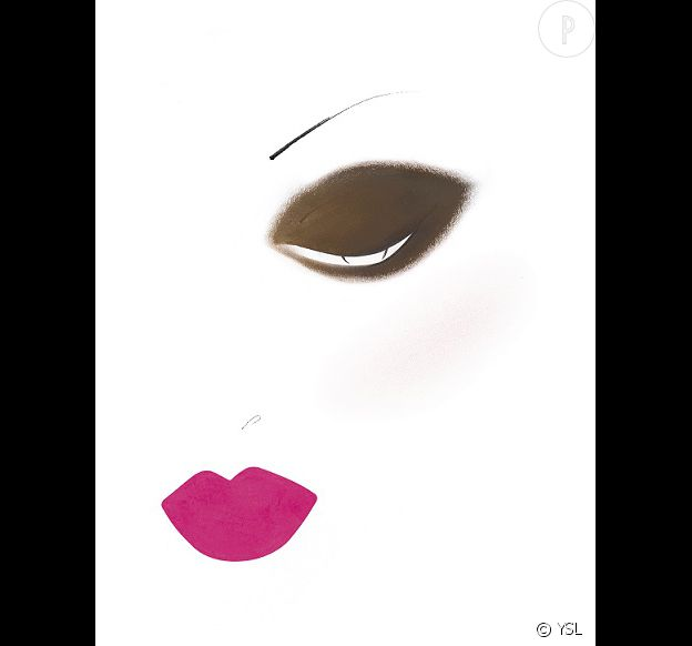 Le beauty look de l'automne 2014 selon Yves Saint Laurent.