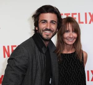 Axelle Laffont et Cyril Paglino : couple assorti et amoureux à la soirée Netflix