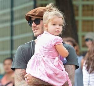 Harper Beckham : à peine trois ans et déjà critiquée sur son poids !
