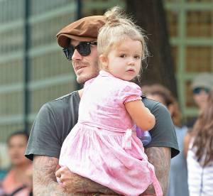"""Harper Beckham : trois ans et """"trop grosse"""" selon un magazine allemand"""