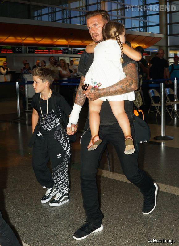 Harper Beckham : à seulement 3 ans, les médias critiquent déjà sa silhouette. Non mais allô !
