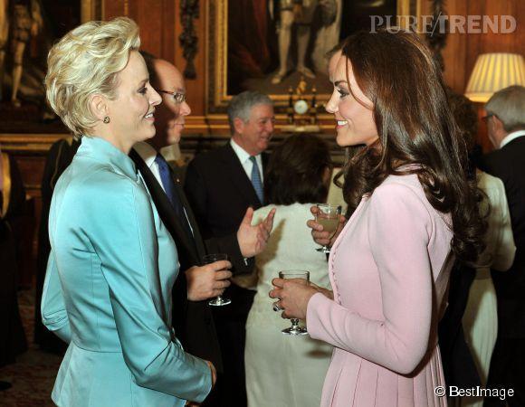 Charlène de Monaco et Kate Middleton, deux grossesses très médiatisées.