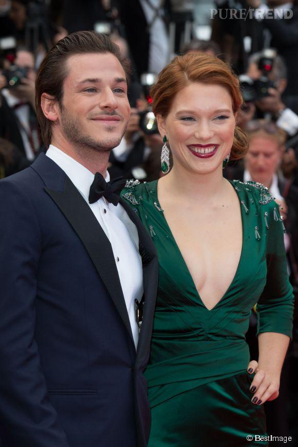 Gaspard Ulliel et Léa Seydoux au Festival de Cannes 2014. Saint Laurent et Loulou de la Falaise dans le biopic de Bertrand Bonello, en salles mercredi 24 septembre 2014.