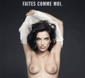 Pauline Delpech seins nus, son combat pour la prévention du cancer