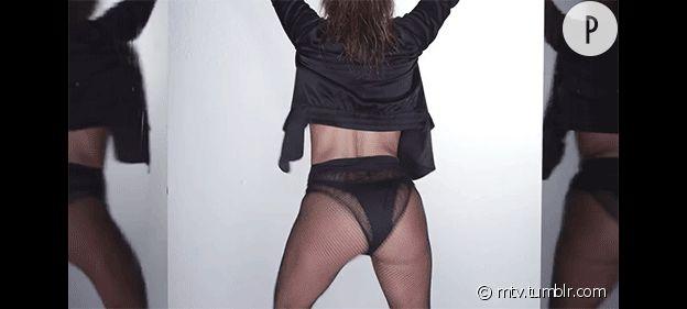 J-Lo et ses fesses qui bougent pas
