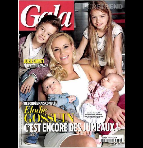 Elodie Gossuin, maman de quatre enfants, elle se tatoue pour eux.