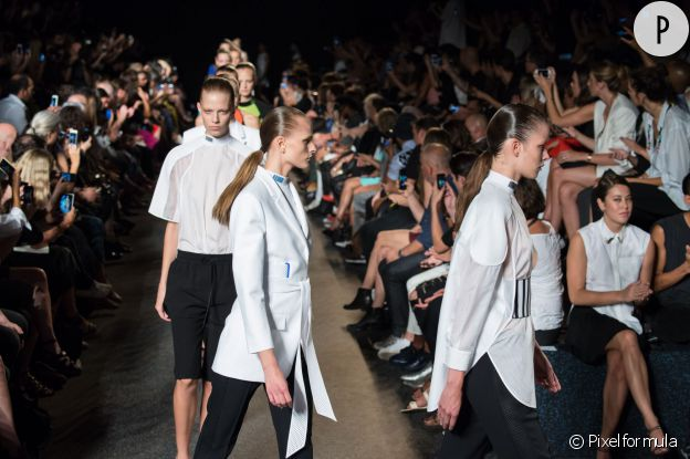 Défilé Alexander Wang, collection Printemps-Été 2015.