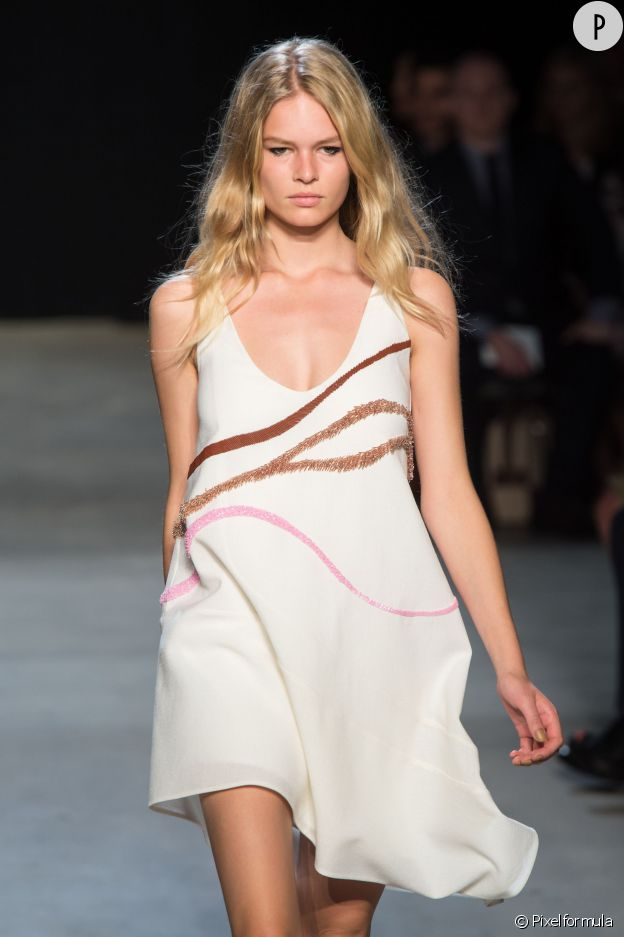 Défilé Narcisso Rodriguez, collection Printemps-Été 2015.