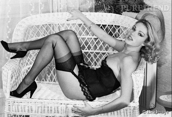 Brigitte Lahaie, une star du porno dans les années 70-80.