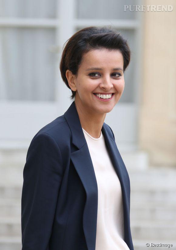 """Najat Vallaud-Belkacem, ministre de l'Education Nationale, a """"confessé"""" ne pas pouvoir emmener ses garçons à l'école. C'est son mari qui s'en occupe. Et, donc ?"""