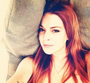 Lindsay Lohan : passion selfie topless pour la starlette