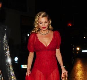 Kate Moss : splendide même en body rouge