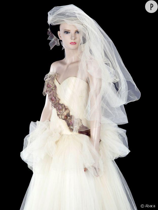La robe de mariée de Madonna.