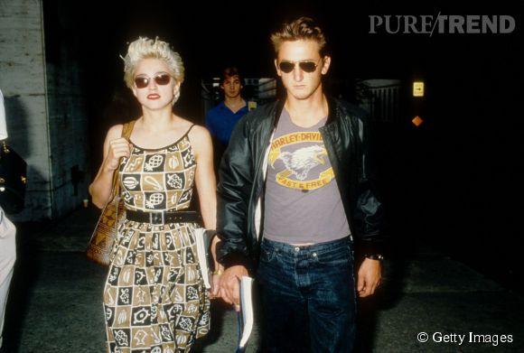 Madonna et Sean Penn sont restés mariés de 1985 à 1989.