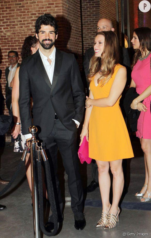 Miguel Angel Muñoz et sa douce, Manuela Velles.