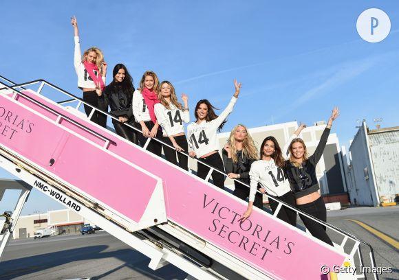 Les tops Victoria's Secret s'envolent pour Londres.