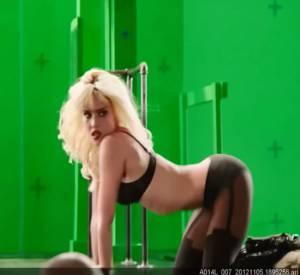 """Jessica Alba, ultra sexy dans le making-of de """"Sin City : J'ai tué pour elle""""."""