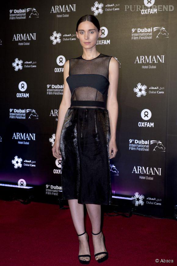 Rooney Mara en Calvin Klein en 2012.