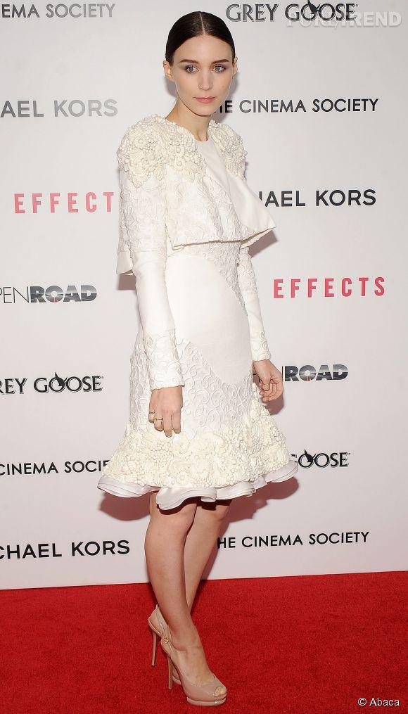 Rooney Mara en Alexander McQueen en 2013.