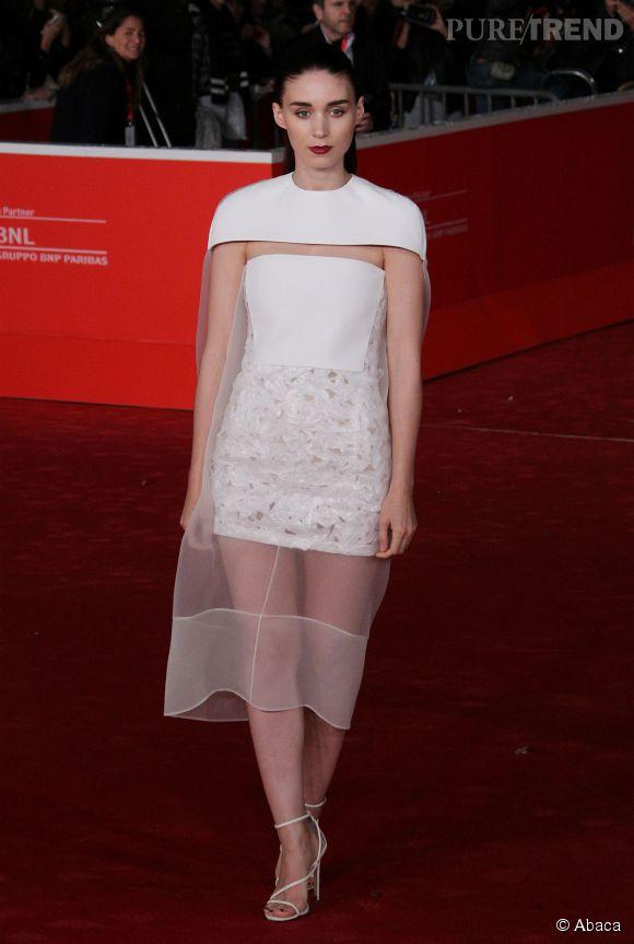 Rooney Mara en Balenciaga en 2013.