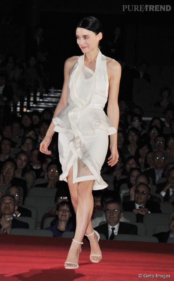 Rooney Mara en Givenchy en 2012.