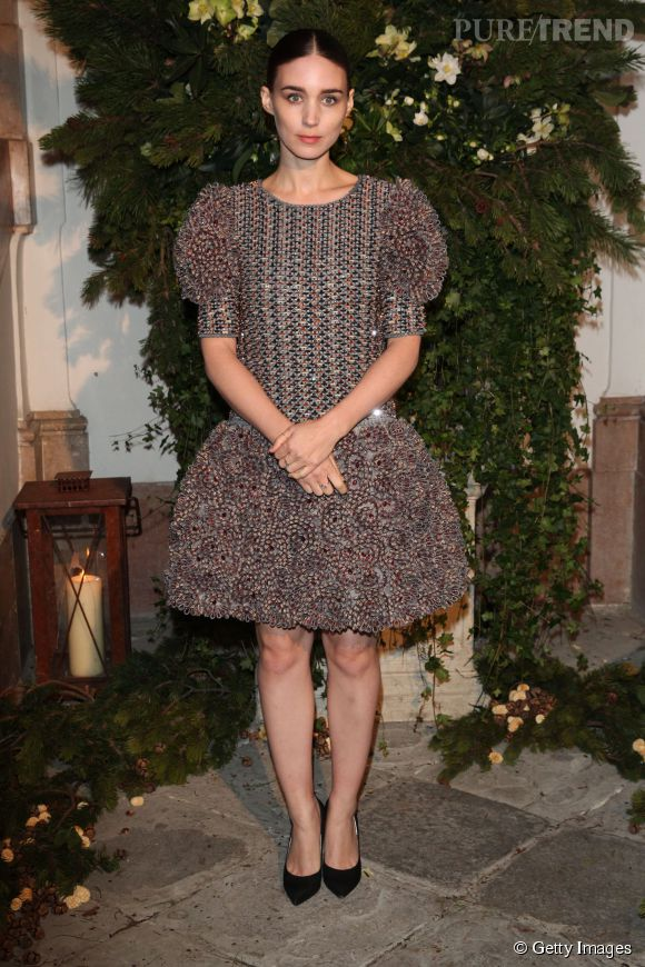Rooney Mara en Chanel en 2014.