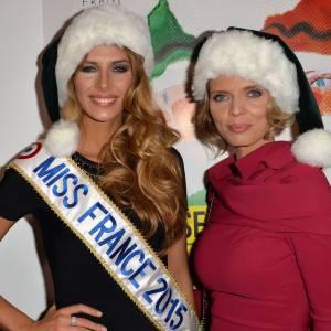 Camille Cerf, Miss France 2015 continue de se dévoiler aux Français.
