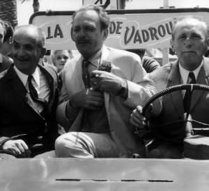 Louis de Funès, Bourvil et Terry Thomas au Festival de Cannes 1967.