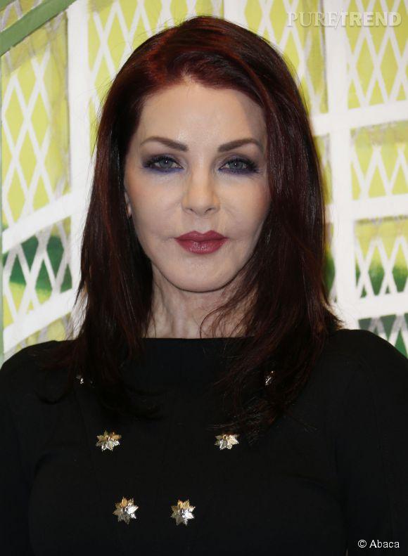 Priscilla Presley : à 69 ans, l'ex-femme d'Elvis Presley a abusé du Botox.