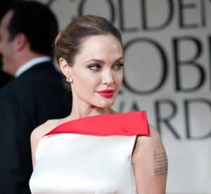 Angelina Jolie au bord des larmes pendant une interview