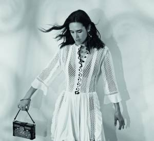 Jennifer Connelly, ambassadrice de la campage  Printemps-Été 2015 de Louis Vuitton, shootée par Bruce Weber.