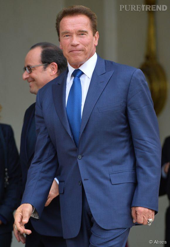 Arnold Schwarzenegger s'est abonné à Charlie Hebdo la semaine dernière.