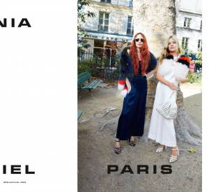 Campagne Printemps-Été 2015 Sonia Rykiel avec Lizzy et Georgia May Jagger.