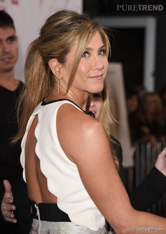 """Jennifer Aniston lors de la première de """"Cake"""" à Los Angeles le 14 janvier 2015."""