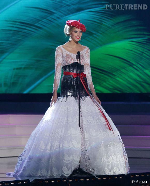 Camille Cerf n'a pas remporté le concours de Miss Univers 2014 à Miami.