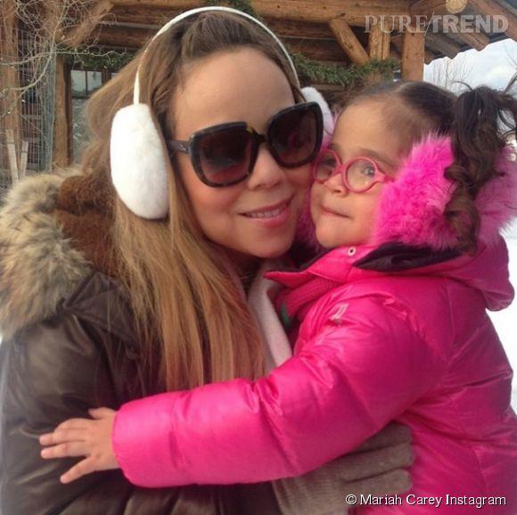 Mariah Carey et sa fille Monroe. Hors de question que quiconque tente de détrôner Mariah dans le coeur de ses bébés d'amour.