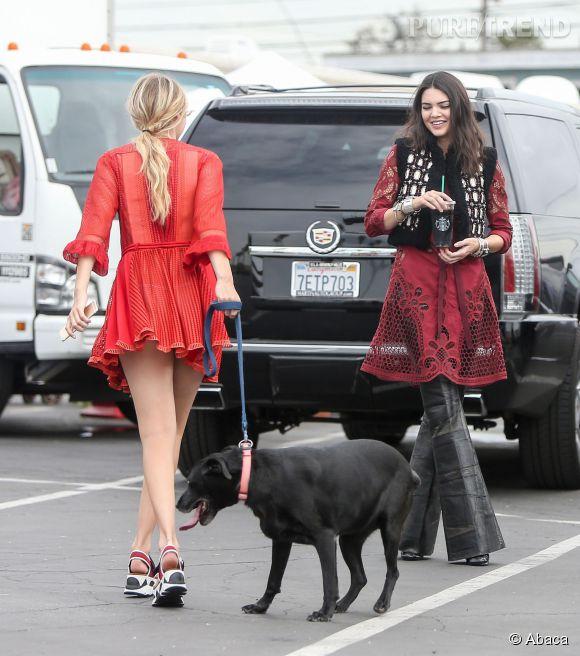 Kendall Jenner et Gigi Hadid, un duo de choc à suivre en 2015.