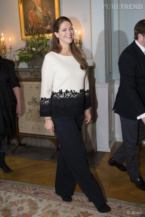 La princesse Madeleine mettra au monde à l'été prochain un petit frère ou une petite soeur pour sa fille Leonore.