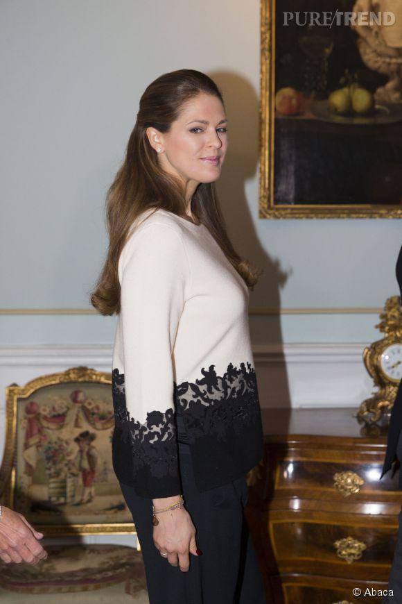 La princesse Madeleine de Suède est fière de ses rondeurs. Enceinte, elle donnera naissance à un nouveau bébé l'été prochain.