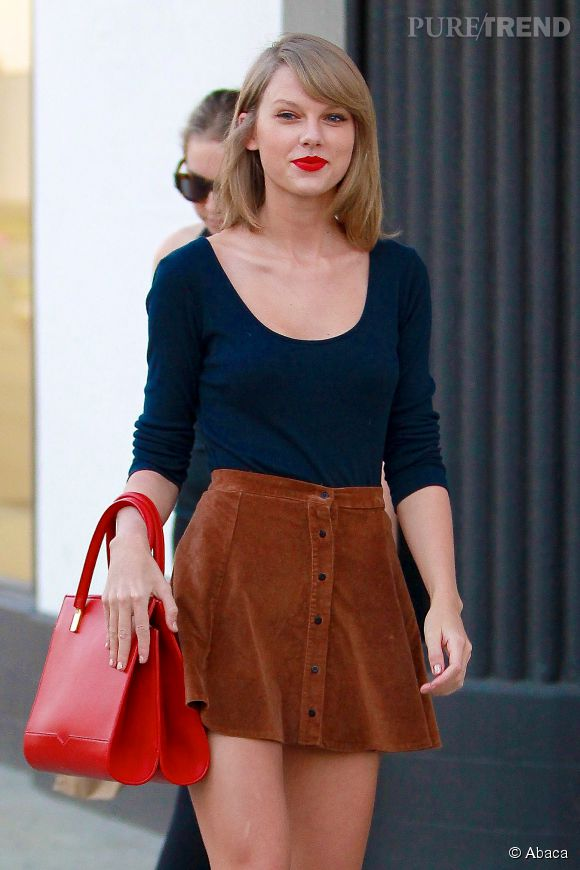 Taylor Swift, icône pop rétro.