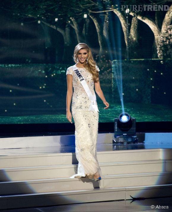 Camille Cerf se présente quelques jours avant le concours de Miss Uivers, le 21 janvier 2015.