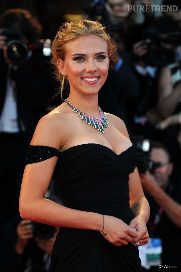 Scarlett Johansson, maman d'une petite Rose.