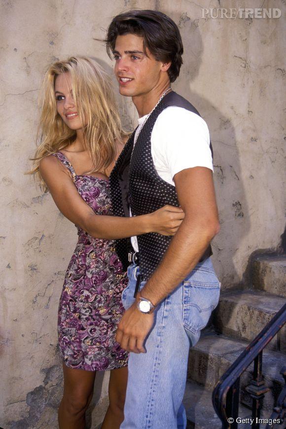 Pamela Anderson et David Charvet ont été en couple de 1992 à 1994.