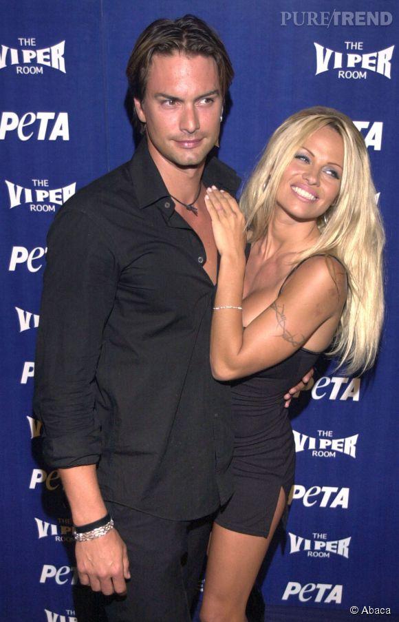 Marcus Schenkenberg et Pamela Anderson sont sortis ensemble de 2000 à 2001.