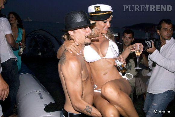 Kid Rock et Pamela Anderson se sont mariés en 2006 et ont divorcé quelques mois plus tard.