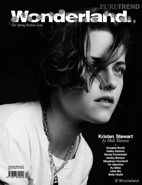 Kristen Stewart fait la couverture du magazine  Wonderland , elle se confie dans ses pages à propos du féminisme et d'Hollywood.