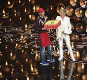 Ellen DeGeneres s'est montrée particulièrement généreuse avec le livreur : elle a réuni 1000 dollars de pourboire !