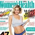 Elsa Pataky, une silhouette impeccable pour le magazine  Women's Health UK , numéro d'avril 2015.